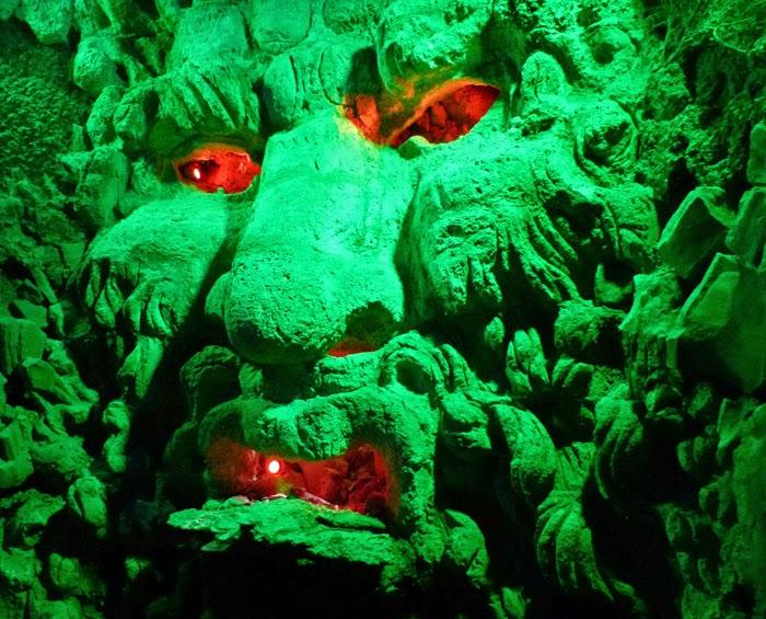 Grotto, Leeds Castle, visit Kent