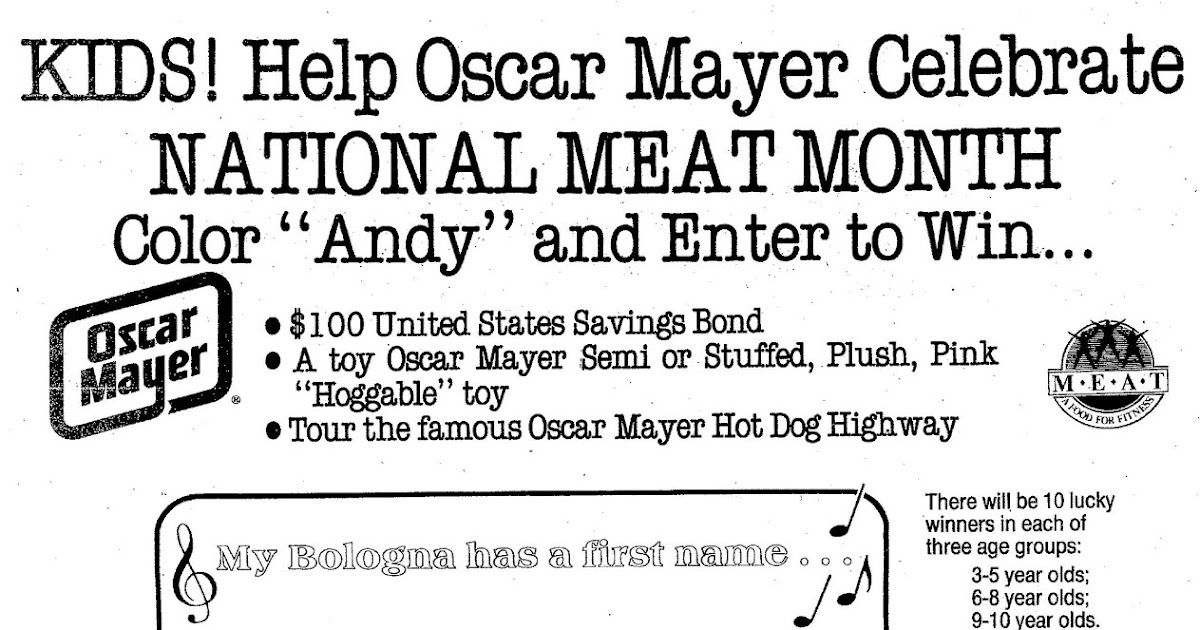 My Bologna Has First Name on oscar mayer wienermobile contest