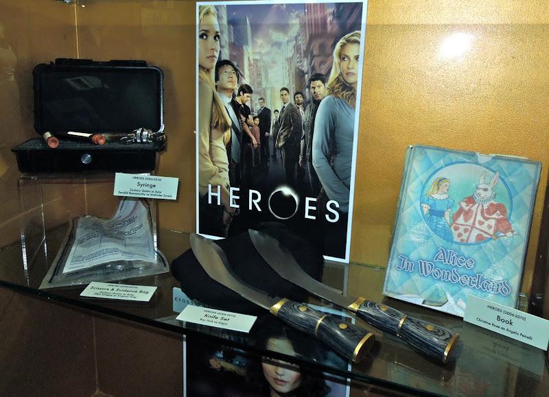 Heroes TV series props