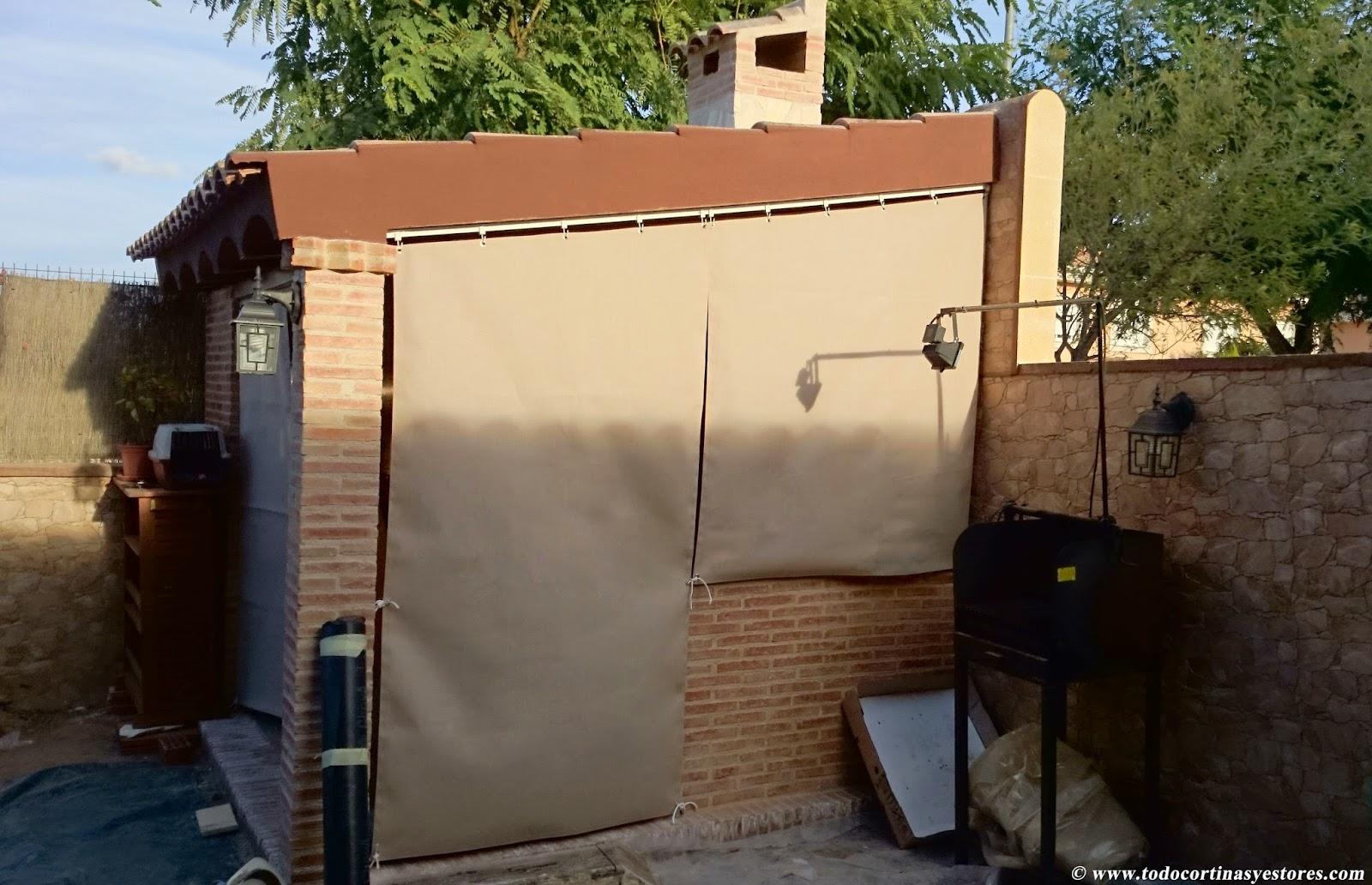 Decoracion interior cortinas verticales estores enrollables puertas plegables toldos - Persianas verticales baratas ...