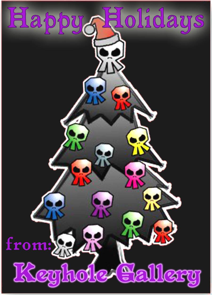 Ilumim card birthday gothic dark and gothic holiday greeting card p137202650003070782zvw9x 400 kristyandbryce Images