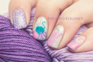 filati per maglieria nail art manicure maglia nail art unghie filati smalto palle