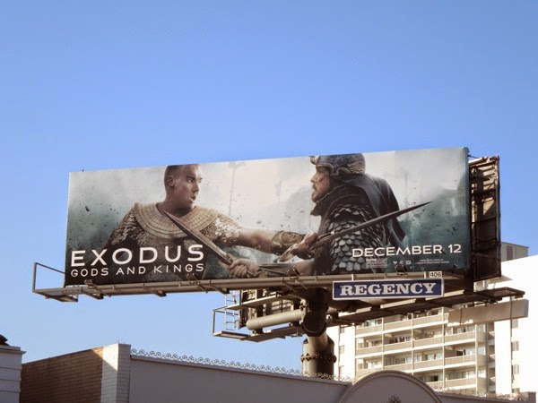 Exodus Gods and Kings billboard