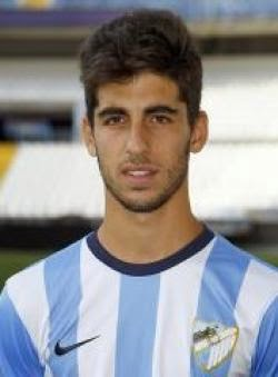 Alex Portillo, jugador del Málaga CF