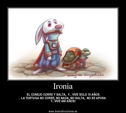 Que ES Ironia Y Ejemplos http://elmundodesaramujerde35.blogspot.com