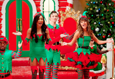 Glee 5x08. Preciously Unaired Christmas