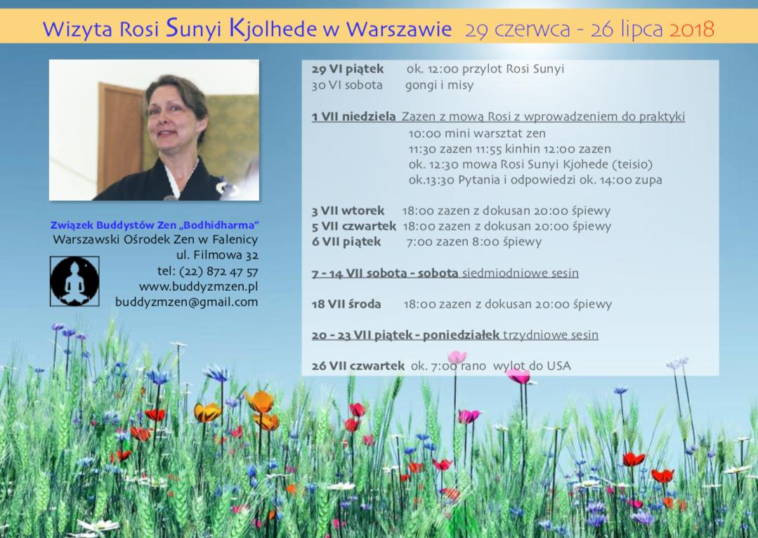 Wizyta Rosi Sunya Kjolhede w Polsce