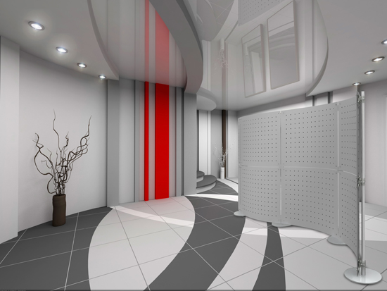 Hanging room divider design ideas pictures house crunch for Contemporary room dividers ideas