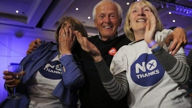 Scotland Votes No To Independence , Scotland Uk
