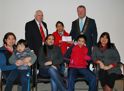Local voluntary groups benefit from Mayoral Christmas Card allowance