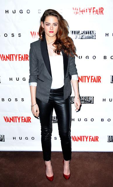 Kristen Stewart - 2013 K��: Deri Pantolon ve Tayt