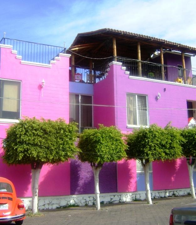 M xico a trav s de la mirada de una cubana colores de la for Colores para pintar frentes de casas