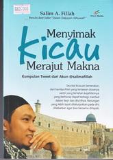 menyimak kicau merajut makna rumah buku buku islam toko buku online