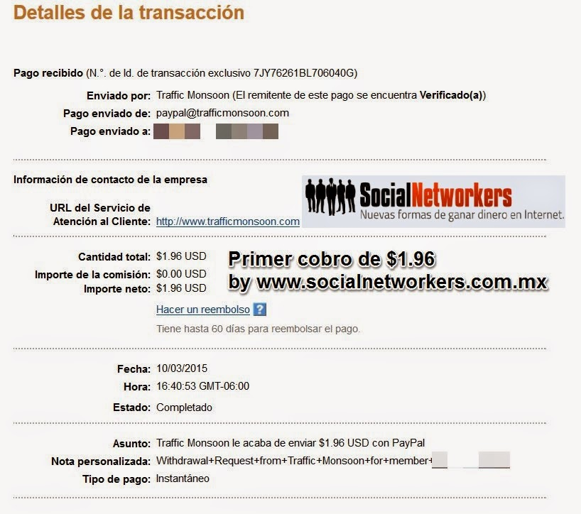 Trafficmonsoon paga