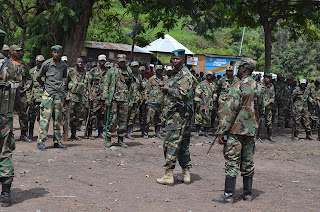 les soldats du M23 à Goma, photo Charly kasereka