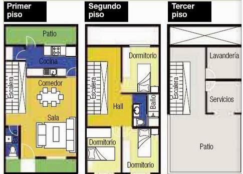 Planos de casas planos casas una planta for Planos de cocina americana