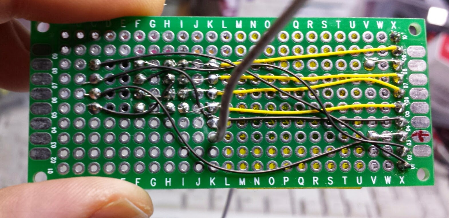 Random Tech Stuff 1hz Clock Generator With Chip On Board Cob Its Only A Hand Full Of Wires Cutting Stripping And Soldering These Is Very Time Consuming Error Prone Well In Excess Three Hours Per