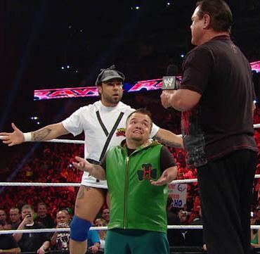 WWE RAW GM HORNSWOGGLE MONDAY NIGHT CYBER E-MAIL