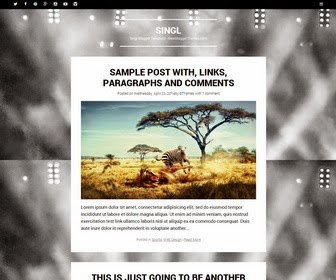 Singl Blogger Template