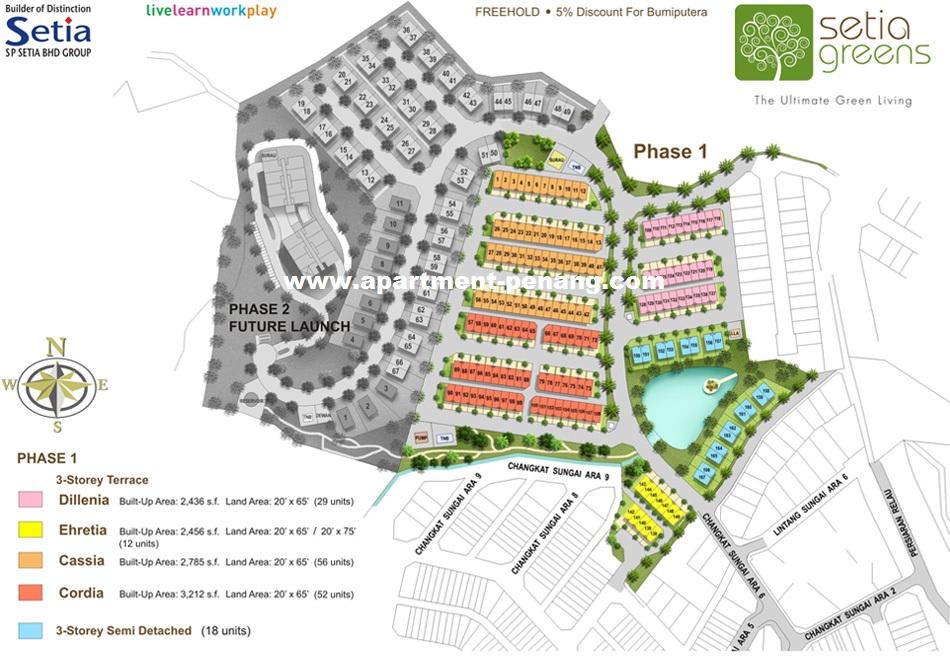 Cassia Setia Greens Apartment Penang Com