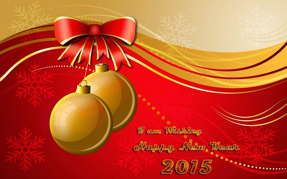 Best Wishes for Happy New Year Holiday Cards