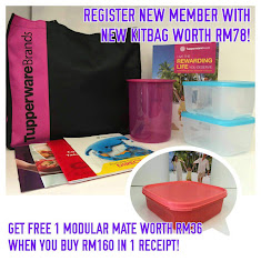 LET'S BECOME A TUPPERWARE MEMBER