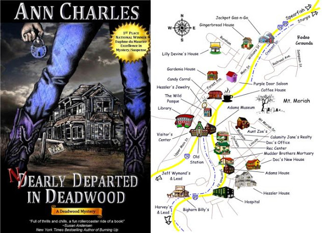 I Was Moved By Anns Genuine Interest In Deadwood She Added Fictional Locations On The Map Ann Has A Delightful Sense Of Humor