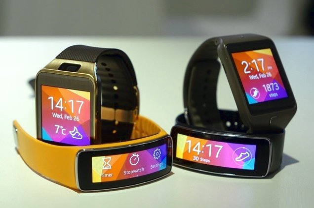 Samsung Gear 2 price and Wrist Fitness Bands features