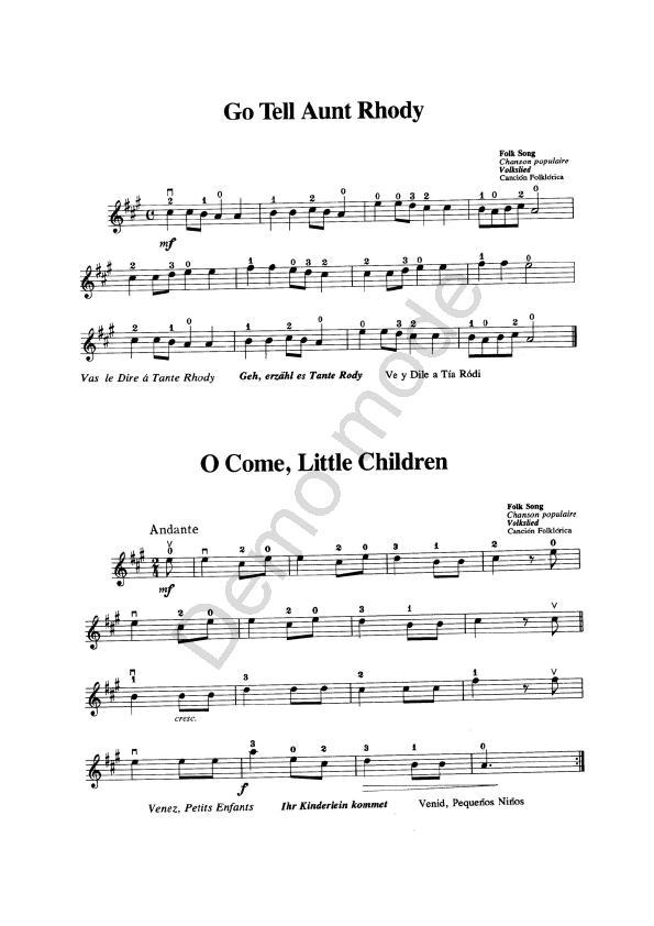 Metodo Suzuki Violin Vol  Pdf