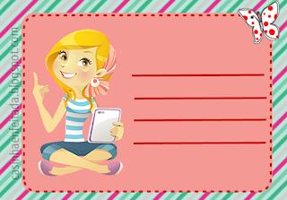 imprimir etiquetas adesivas para livros e cadernos faça você mesmo