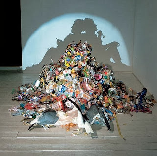 Cool Shadow Art Installations