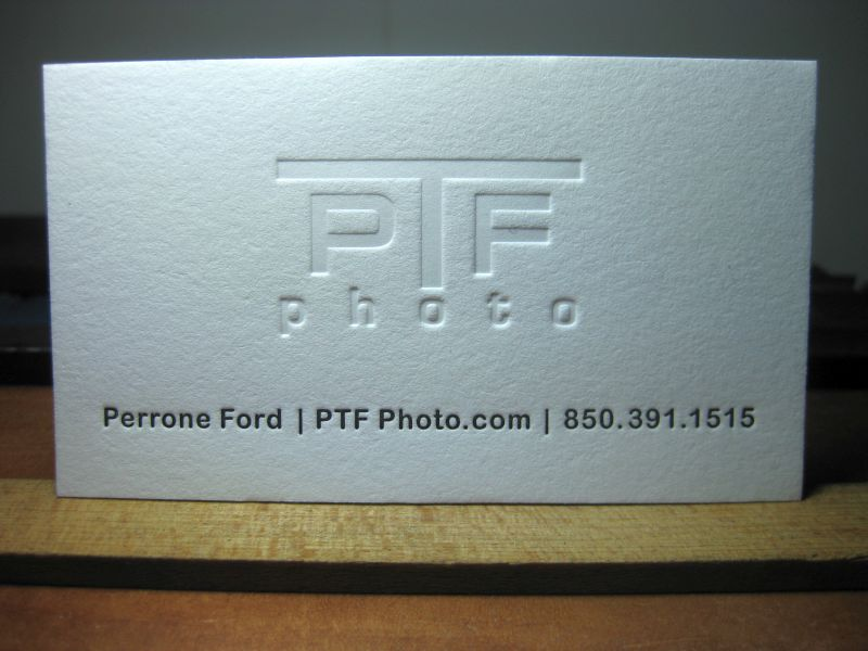 G johanson letterpress letterpress printing design business below are some shots of ptfs new cards these were printed using traditional wood mounted metal dies courtesy owosso graphics colourmoves