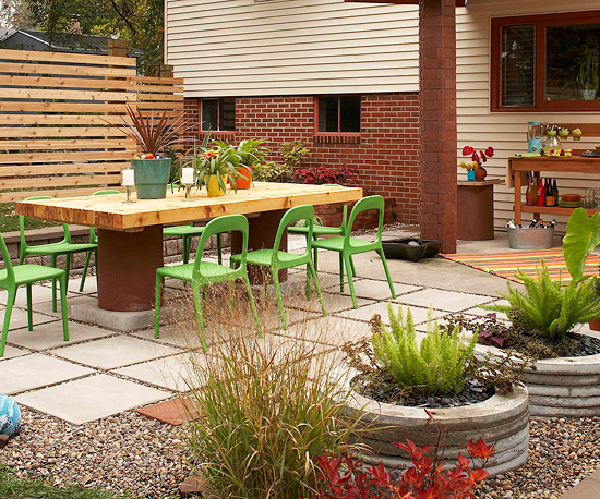 Very Small Backyard Patio Ideas : New Home Interior Design BudgetFriendly Ideas for Outdoor Rooms