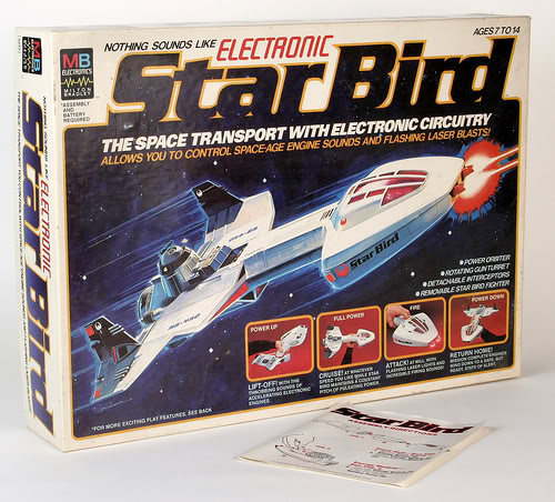80 S Milton Bradley Toys : Space fifth coolest toy ever milton bradley s star bird