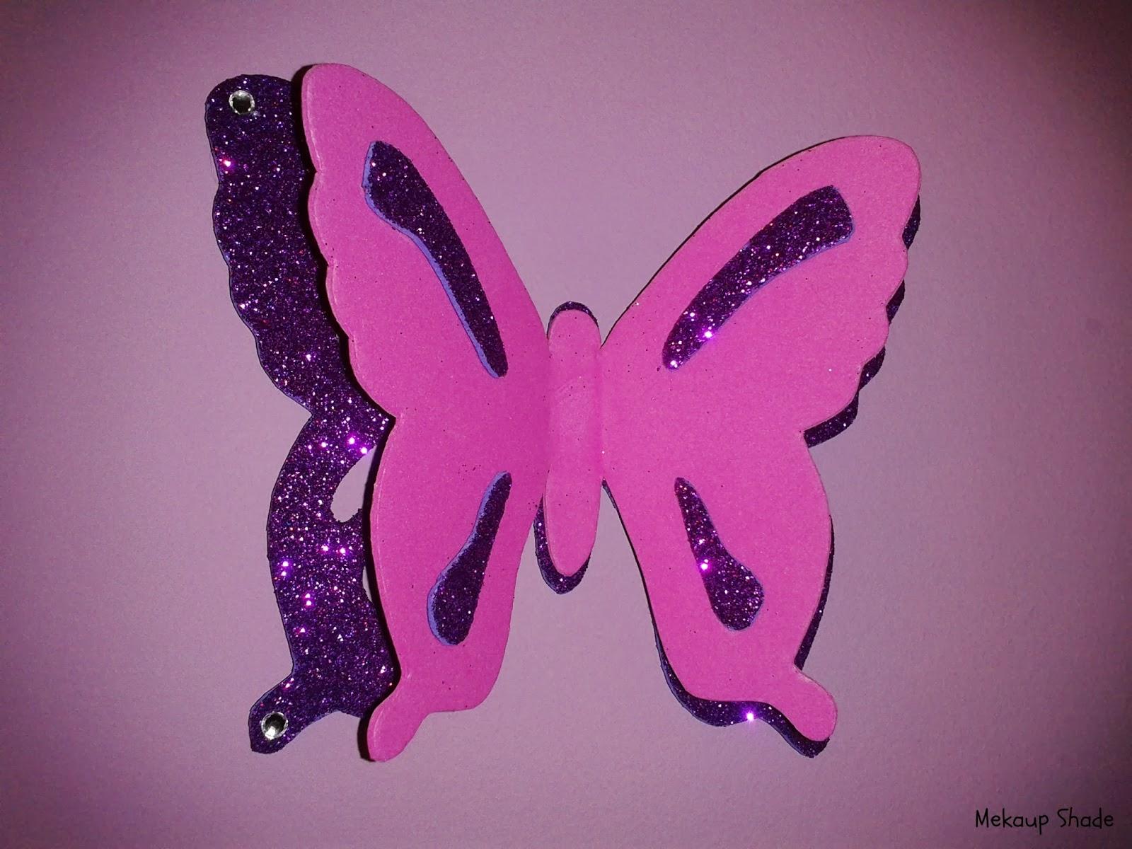 Como decorar una mariposa imagui - Mariposas para pared ...