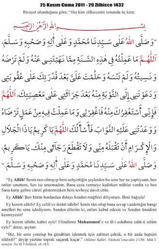 hicri+sene+sonu+duası