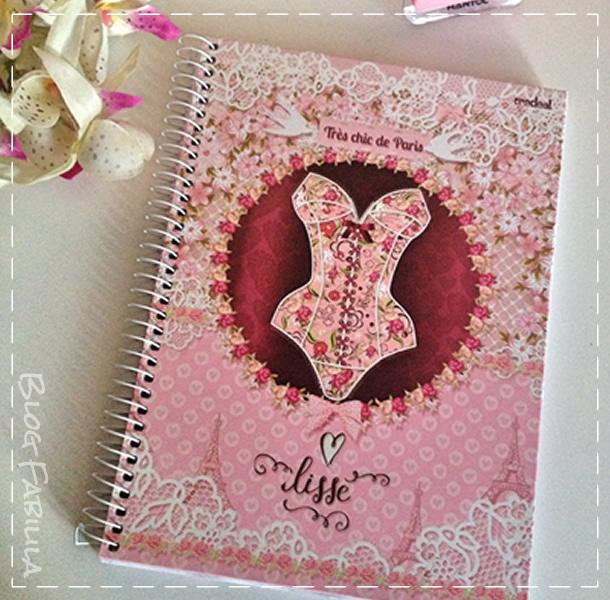 Caderno Credeal Feminino Moda