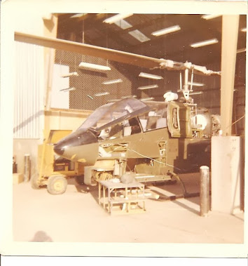 BELL AH-1 COBRA ATTACK HELICOPTER