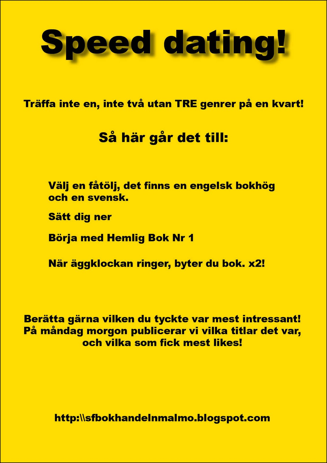 Dating Informerar Oss