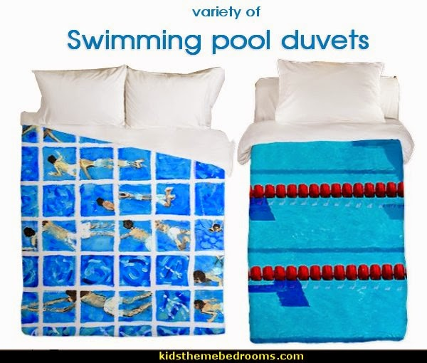 Decorating theme bedrooms maries manor swimming pool for Swimming pool bed