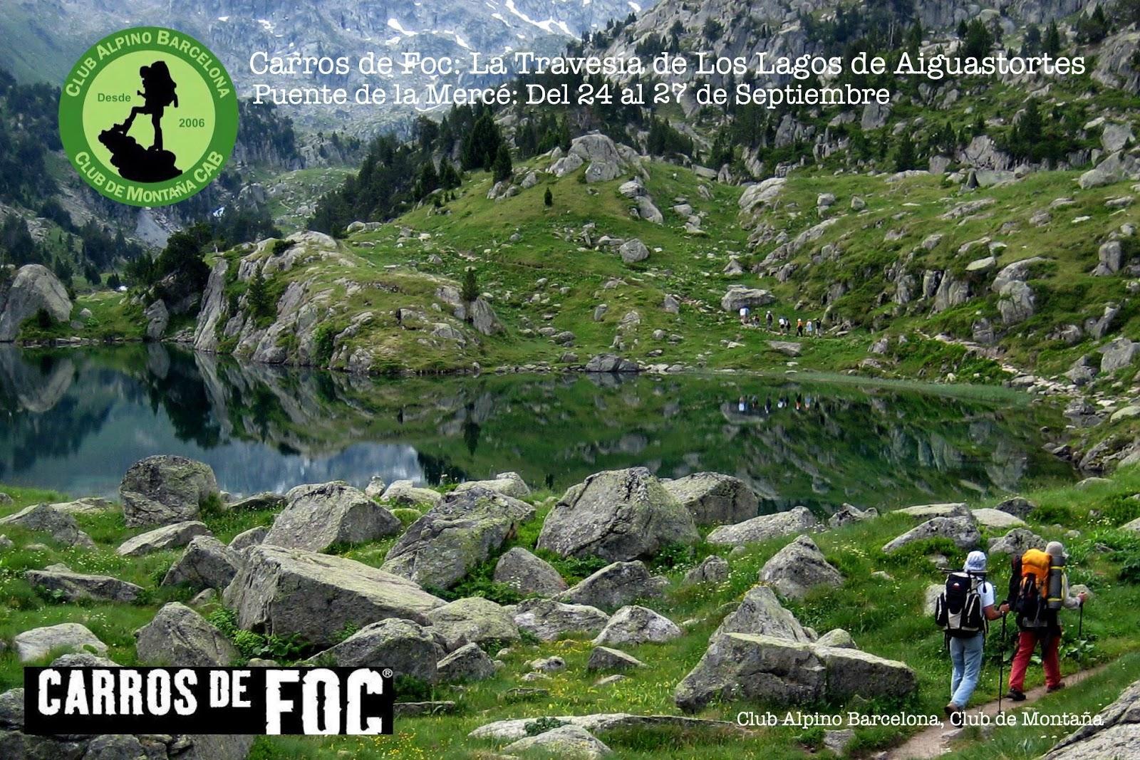 Club Alpino Barcelona Trekking Carros De Foc La Ruta De Los