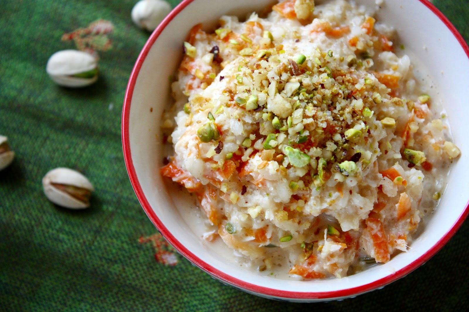 Indischer Reispudding mit Kokosmilch