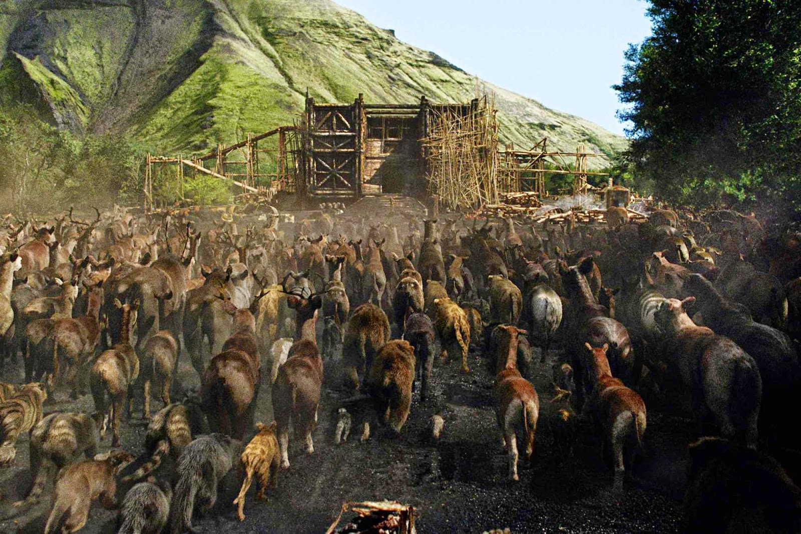 Noah - The Animals Arrive at the Ark | A Constantly Racing Mind