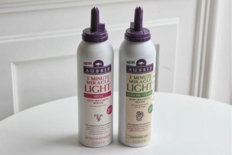 Aussie 3 Minute Miracle Lightweight Mousses
