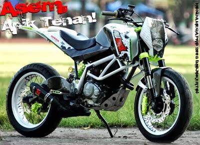 Gambar Modifikasi Honda Megapro