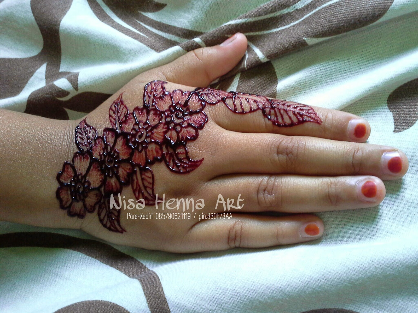 Nisa Henna Art Pare Kediri Photo Henna