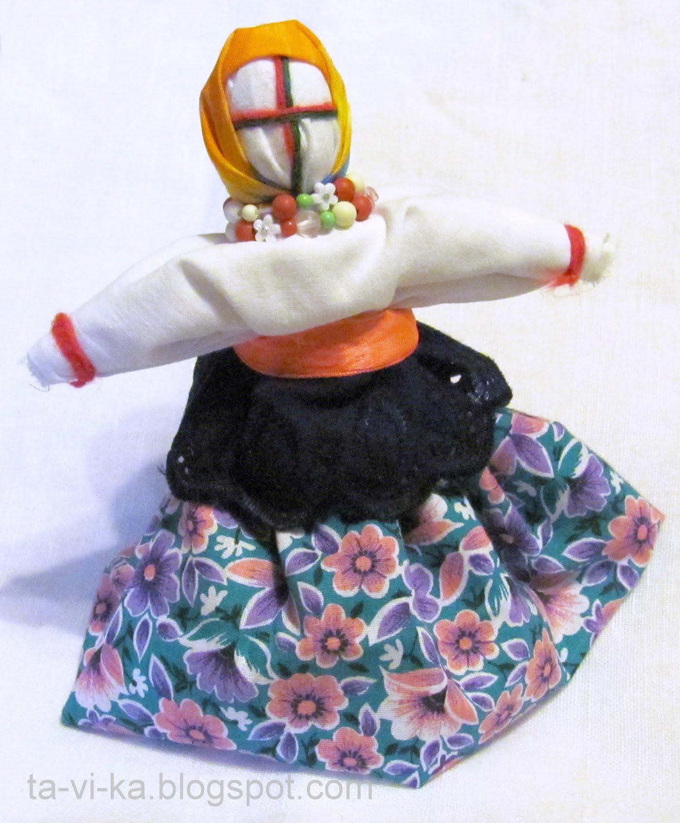 Кукла народная своими руками