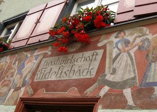 Bakery in business since the year 1505, Wangen im Allgäu, Germany