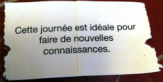 Méssage daily's fortune