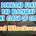 Download Font Bad Blockhead